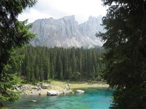 Karer See Dolomiten-tour