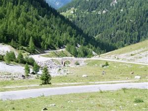 Umbrail Pass Italien-Schweiz