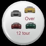 Bis zu 25 Fahrzeugen angepasste Tour